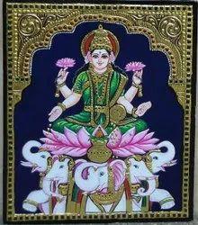 Vaibhav Laxmi Tanjore Painting