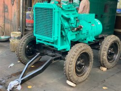 40 KVA Trolley Mounted Noise Version Diesel Generator Set