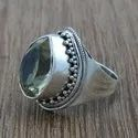 Turquoise Gemstone Silver Ring 925 Silver Jewelry