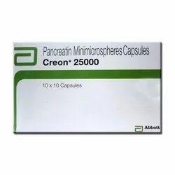 Creon 25000 ( Pancreatin Minimicrospheres Capsule)