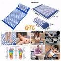 Acupressure Mat Without Pillow (811-333, Multicolor)