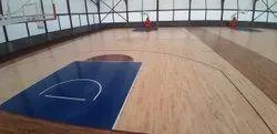 Indoor Color Coated Sport Flooring