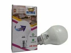 Ceramic Round 9W King LED Bulb, Base Type: B22, -20 To 80 Degree C