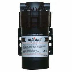 Blue Shell RO Diaphragm Booster Pump 100 GPD 24 V DC