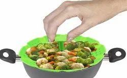 Vegetable Steamer, For Kitchen, Size/Dimension: 25 X 5 X 25 Cm