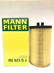 HU931/5x Mann  Fuel Filter  Cartridge