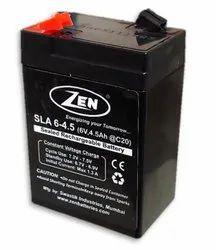 ZEN 6V 4.5 Ah SMF VRLA Battery