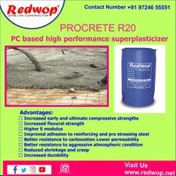 Procrete R-20  PC Based High Performance Superplasticizer