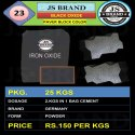 Paver Block Black Iron Oxide