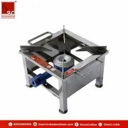 SLC LPG Stainless Steel Bhatti