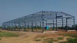 Mild Steel Prefab PEB Structure Shed