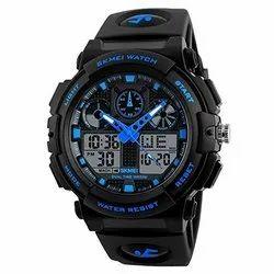 Digital-analog Black Skmei Analog Digital Watch, Model Name/Number: 1270