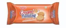 Orange Cream Biscuit
