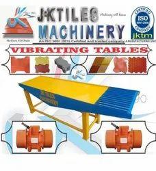 Vibrating Table For Interlocking Tiles