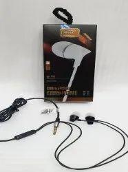 Black Wired SPN SP- 130 Universal Earphone, Headphone Jack: 9mm