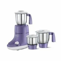 Stainless Steel Purple 300W Mixer Grinder, For Wet & Dry Grinding