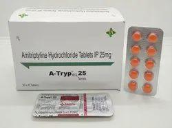 Amitryptyline Hydrochloride 25mg Tablets(A-TRYP 25)