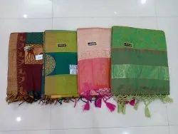 Banaras Silk Saree With Blouse