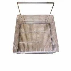 Silver SS Grain Basket