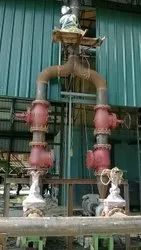 Fabrication And Erection oil Pipe Line Works, Size: 20 mm To 300 mm