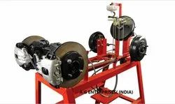 Disc Brake Assembly Working Engineering Model