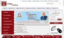 Oil And Natural Gas Corporation Limited (ONGC) E-Tender  Service