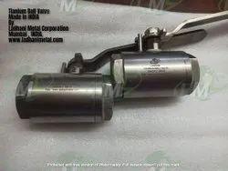Titanium Ball Valve , Two Pieces Full Bore Ball Valve , Astm B381 Grade F2 Or F5 Ball Valve