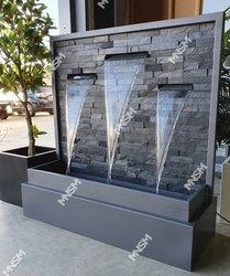 Waterfall And Water Sheet Fountains