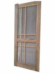 Teak Wood Jali Door