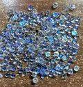 100%Natural Rainbow Moonstone Cabochon, 6mm Round Moonstone Gemstone, Top Quality Moonstone Cabochon