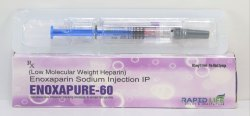 Enoxapure-60 Enoxaparin Injection 60 mg/0.6 ml