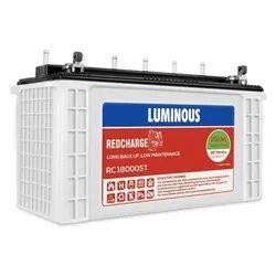 Luminous Rc18000 150ah Tall Tubular Warranty 36 Months (18f+18p) Pack Of 2