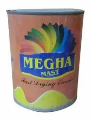 Megha Paints High Sheen Fast Drying Enamel Paint, Packaging Type: Container, Packaging Size: 12 L
