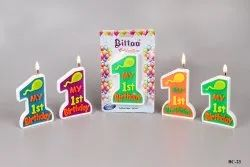 BC-23 My First Birthday Candle