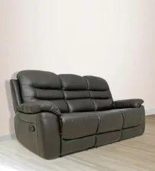 Black Reclining Sofa