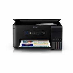 Black & White Epson L4150 Wireless Printer