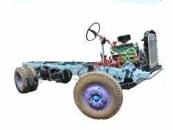 Cut Sectional Model Of Truck Chassis