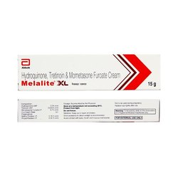 Melalite Xl ( Hydroquinone+Tretinoin+Mometasone Furoate )