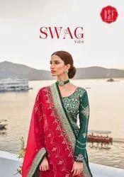 RSF Swag Vol 6 Silk Jacquard Designer Salwar Suit Catalog