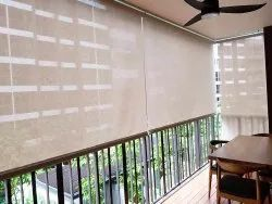 Fiber Roller Curtain For Balcony