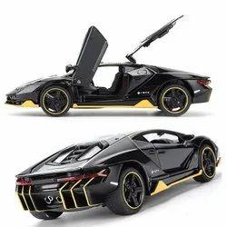 Black Metal lamborghini Diecast Model Car