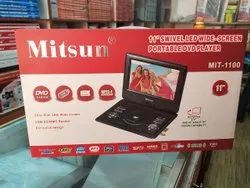 MITSUN Dvd Player With Screen, Screen Size: 11'', Model Name/Number: MIT-1100