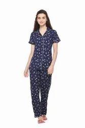 Women Cotton Night Suit Sets