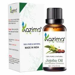 KAZIMA Jojoba Oil - 100% Pure, Natural & Undiluted Essential