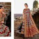 Pure Silk Banarasi Weaving Work Saree-12 Pcs Set