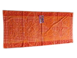 Cotton 6 colour Orange trrkish terry towel, Size: 36*60 Inch
