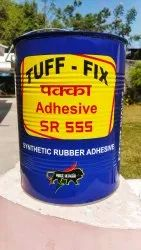 TUFF-FIX SR 555 Synthetic Rubber Adhesive, 5 Litres, Tin Can
