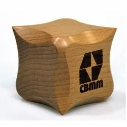 Wooden Paper Weight For Corporate Gifting
