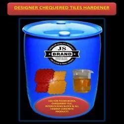 Designer Chequered Tiles Hardener