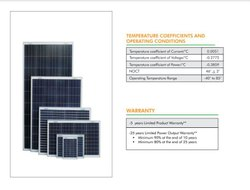 Waaree 170 W 12V Polycrystalline Solar Panel